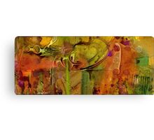 Summer Triptych I Canvas Print