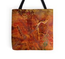 Mining for Turquoise Tote Bag