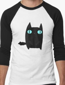 Fat Black Cat Men's Baseball ¾ T-Shirt
