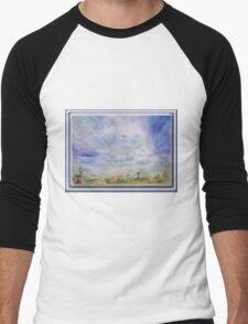 3744 Cloud Guide A 3  Men's Baseball ¾ T-Shirt