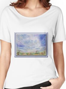 3744 Cloud Guide A 3  Women's Relaxed Fit T-Shirt