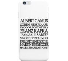 Existentialist Classic St iPhone Case/Skin