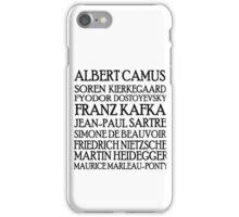 Existentialist Classic St iPhone Case/Skin