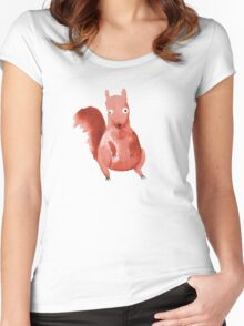 Nuts For You Women's Fitted Scoop T-Shirt