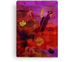 Purple Rain II Canvas Print