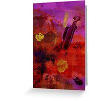 Purple Rain II Greeting Card
