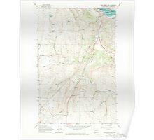 USGS Topo Map Washington State WA Chief Joseph Dam 240480 1968 24000 Poster