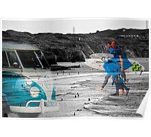 The Cornish Surf Scene Poster