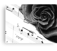 Music of Passion Canvas Print