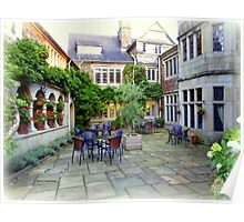 Lew Trenchard Courtyard Poster