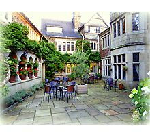 Lew Trenchard Courtyard Photographic Print