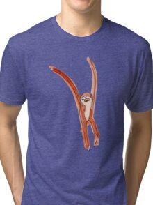 Dancing Sloth Tri-blend T-Shirt