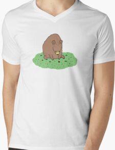 Bear & Ladybird Mens V-Neck T-Shirt