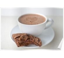 Creamy Hot Chocolate Poster