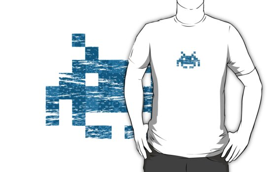 Space Invader by wangry