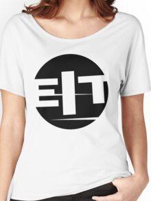 EIT logo black Women's Relaxed Fit T-Shirt