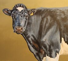 Cow painting by Gina Hawkshaw