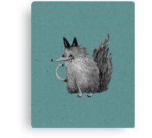 Cheeky Wolf Canvas Print