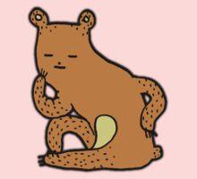 Thinking Bear One Piece - Long Sleeve