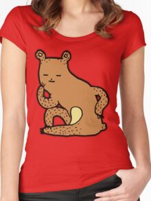 Thinking Bear Women's Fitted Scoop T-Shirt