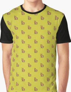 Thinking Bear Graphic T-Shirt