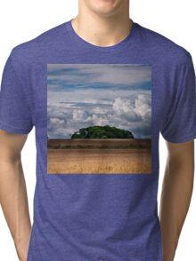 Big Blue Sky Tri-blend T-Shirt