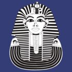 Egyptian King Tut T-Shirt by AsianT-Shirts
