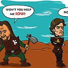 Theon does not sow by Bloodysender