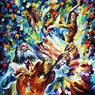 LATIN MOOD - OIL PAINTING BY LEONID AFREMOV by Leonid  Afremov