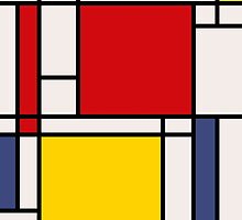 Mondrian by RetroPops