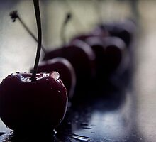 cherries by Ingrid Beddoes