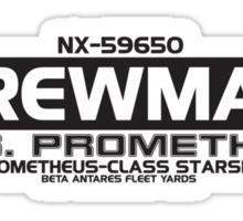 USS Prometheus Sticker