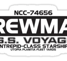 USS Voyager Sticker