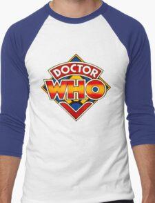 Doctor Who Logo. Men's Baseball ¾ T-Shirt