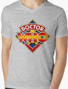 Doctor Who Logo. Mens V-Neck T-Shirt