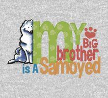 Big Brother Samoyed Kids Tee