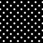 Case black and white Polka Dot by Medusa81
