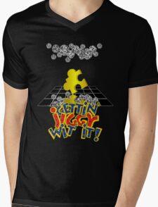 """Gettin' Jiggy Wit' It!"" Mens V-Neck T-Shirt"
