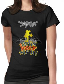 """""""Gettin' Jiggy Wit' It!"""" Womens Fitted T-Shirt"""