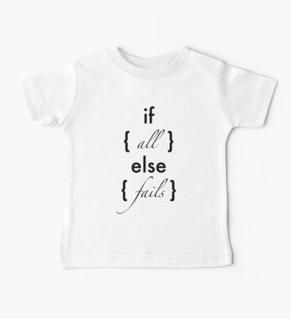 Javascripted Baby Tee