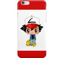 Chibi Ash Ketchum iPhone Case/Skin
