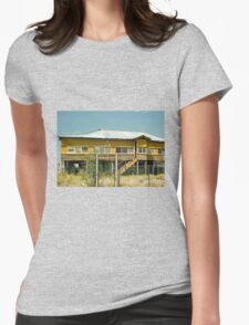 Abandoned Queenslander Womens Fitted T-Shirt