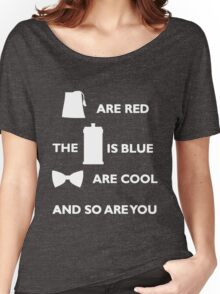 Doctor Who Poem. Women's Relaxed Fit T-Shirt