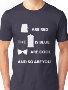 Doctor Who Poem. Unisex T-Shirt