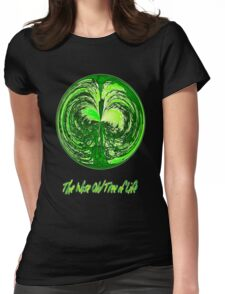 The Wise Old Tree of Life No10 T-shirt design Womens Fitted T-Shirt
