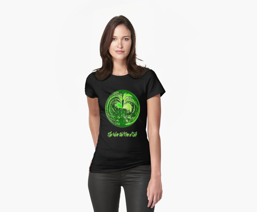 The Wise Old Tree of Life No10 T-shirt design by Dennis Melling