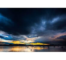 Storms pass Photographic Print