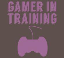 Gamer In Training One Piece - Short Sleeve
