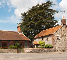 Building, Houses, Traditionsl, Weybourne, Norfolk by Hugh McKean