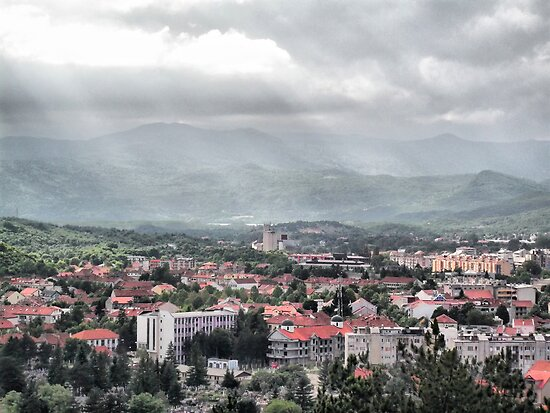 Panorama Niksic by DejanCG